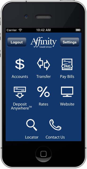 Saskatoon based Affinity Credit Union App